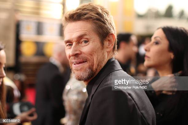75th ANNUAL GOLDEN GLOBE AWARDS Pictured Actor Willem Dafoe arrives to the 75th Annual Golden Globe Awards held at the Beverly Hilton Hotel on...