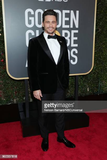 75th ANNUAL GOLDEN GLOBE AWARDS Pictured Actorproducer James Franco arrives to the 75th Annual Golden Globe Awards held at the Beverly Hilton Hotel...