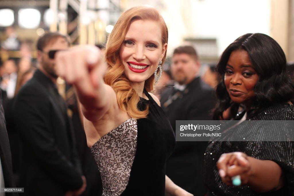 "CA: NBC's ""75th Annual Golden Globe Awards"" - Red Carpet Arrivals"