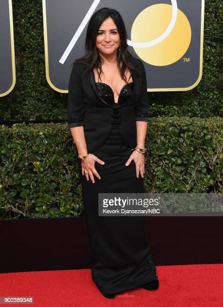 75th ANNUAL GOLDEN GLOBE AWARDS Pictured Actor/writer Pamela Adlon arrives to the 75th Annual Golden Globe Awards held at the Beverly Hilton Hotel on...