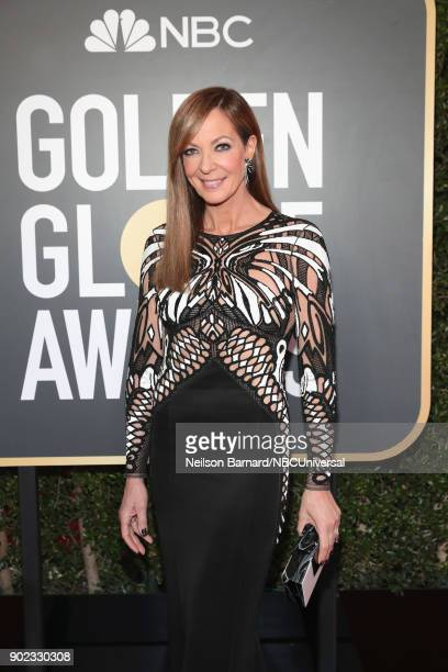 75th ANNUAL GOLDEN GLOBE AWARDS Pictured Allison Janney arrives to the 75th Annual Golden Globe Awards held at the Beverly Hilton Hotel on January 7...