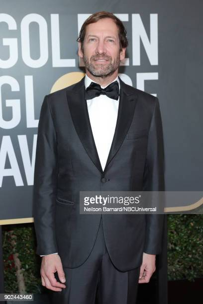 75th ANNUAL GOLDEN GLOBE AWARDS Pictured Director at MGM Holdings Inc Kevin Ulrich arrive to the 75th Annual Golden Globe Awards held at the Beverly...