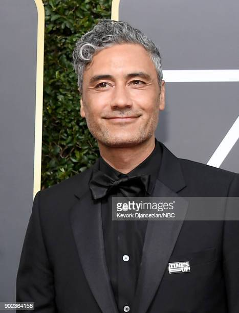 75th ANNUAL GOLDEN GLOBE AWARDS Pictured Director/actor Taika Waititi arrives to the 75th Annual Golden Globe Awards held at the Beverly Hilton Hotel...