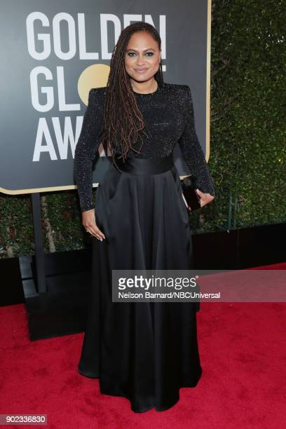 75th ANNUAL GOLDEN GLOBE AWARDS Pictured Directorwriter Ava DuVernay arrives to the 75th Annual Golden Globe Awards held at the Beverly Hilton Hotel...