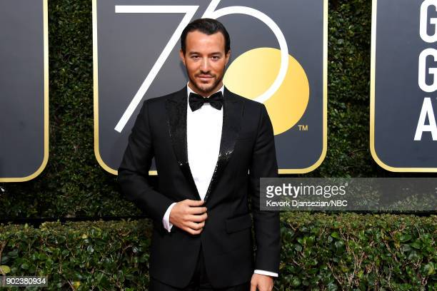 75th ANNUAL GOLDEN GLOBE AWARDS Pictured Emir Bahadir arrives to the 75th Annual Golden Globe Awards held at the Beverly Hilton Hotel on January 7...