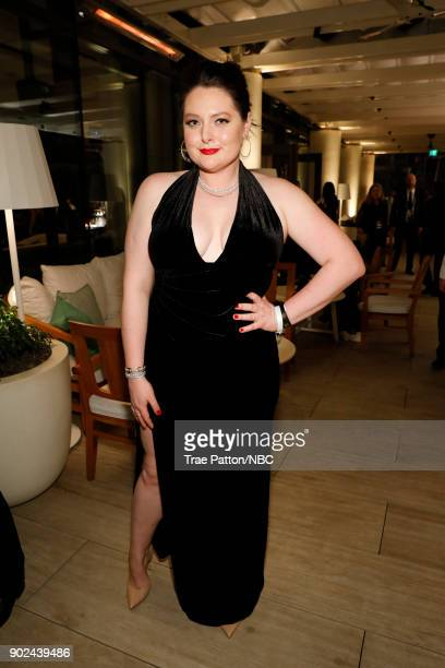 75th ANNUAL GOLDEN GLOBE AWARDS Pictured Lauren Ash enjoys NBC and USA Network's postGolden Globe Awards party Sunday January 7 in the JeanGeorges...