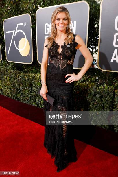 75th ANNUAL GOLDEN GLOBE AWARDS Pictured Missi Pyle arrives to the 75th Annual Golden Globe Awards held at the Beverly Hilton Hotel on January 7 2018