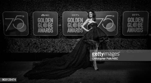 75th ANNUAL GOLDEN GLOBE AWARDS Pictured Model Kendall Jenner arrives to the 75th Annual Golden Globe Awards held at the Beverly Hilton Hotel on...
