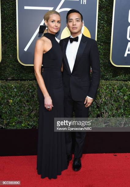75th ANNUAL GOLDEN GLOBE AWARDS Pictured musician Anna Nordeen arrive to the 75th Annual Golden Globe Awards held at the Beverly Hilton Hotel on...