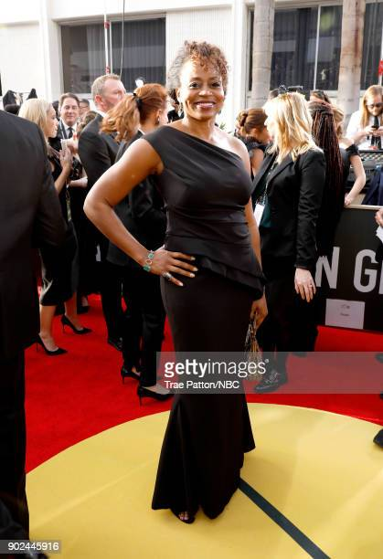 75th ANNUAL GOLDEN GLOBE AWARDS Pictured President Universal Television Pearlena Igbokwe arrive to the 75th Annual Golden Globe Awards held at the...