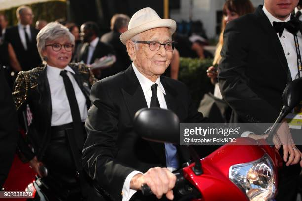 75th ANNUAL GOLDEN GLOBE AWARDS Pictured Producer Norman Lear arrives to the 75th Annual Golden Globe Awards held at the Beverly Hilton Hotel on...