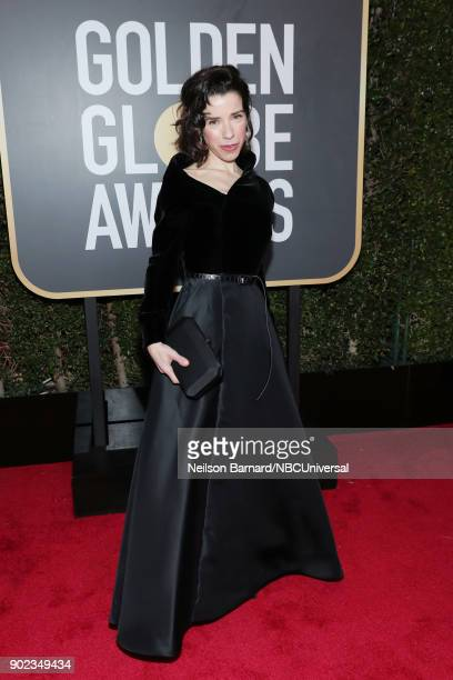 75th ANNUAL GOLDEN GLOBE AWARDS Pictured Sally Hawkins arrives to the 75th Annual Golden Globe Awards held at the Beverly Hilton Hotel on January 7...
