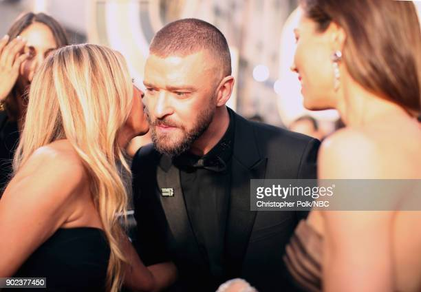 75th ANNUAL GOLDEN GLOBE AWARDS Pictured Singer/actor Justin Timberlake arrives to the 75th Annual Golden Globe Awards held at the Beverly Hilton...
