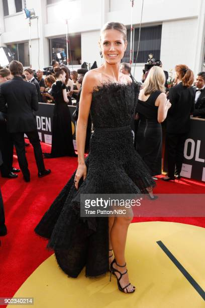 75th ANNUAL GOLDEN GLOBE AWARDS Pictured TV personality Heidi Klum arrives to the 75th Annual Golden Globe Awards held at the Beverly Hilton Hotel on...