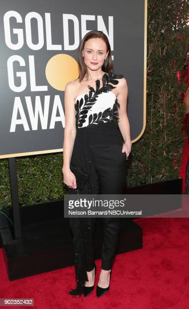75th ANNUAL GOLDEN GLOBE AWARDS PicturedActor Alexis Bledel arrive to the 75th Annual Golden Globe Awards held at the Beverly Hilton Hotel on January...