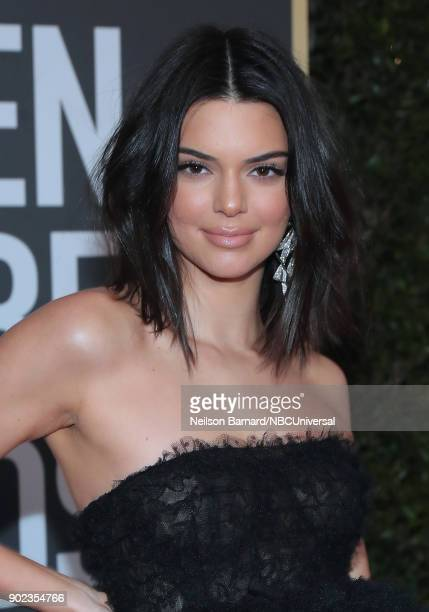 75th ANNUAL GOLDEN GLOBE AWARDS PicturedKendall Jenner arrives to the 75th Annual Golden Globe Awards held at the Beverly Hilton Hotel on January 7...