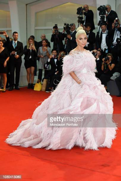 75th Venice Film Festival A star is born red carpet In the picture Lady Gaga during the red carpet on the occasion of the 75th Venice Film Festival...