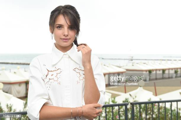 75th Venice Film Festival In the picture actress Federica Sabatini pose in Venezia Lido September 1th 2018
