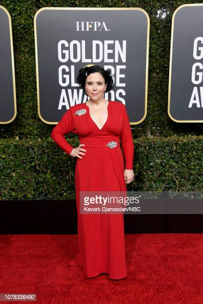 76th ANNUAL GOLDEN GLOBE AWARDS Pictured Alex Borstein arrives to the 76th Annual Golden Globe Awards held at the Beverly Hilton Hotel on January 6...