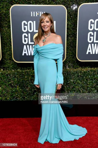 76th ANNUAL GOLDEN GLOBE AWARDS Pictured Allison Janney arrives to the 76th Annual Golden Globe Awards held at the Beverly Hilton Hotel on January 6...