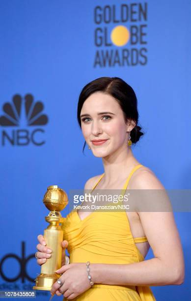 76th ANNUAL GOLDEN GLOBE AWARDS -- Pictured: Best Performance by an Actress in a Television Series, Musical or Comedy, Winner for 'The Marvelous Mrs....
