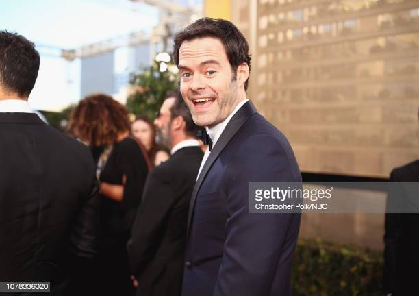 76th ANNUAL GOLDEN GLOBE AWARDS Pictured Bill Hader arrive to the 76th Annual Golden Globe Awards held at the Beverly Hilton Hotel on January 6 2019