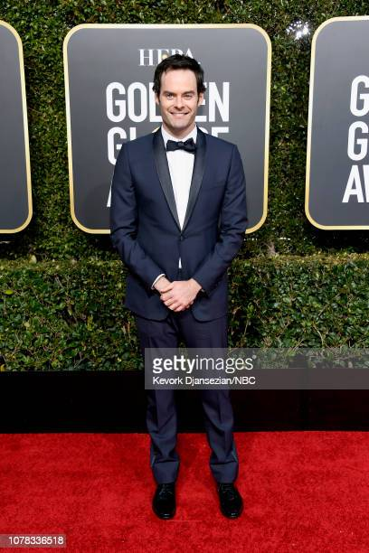 76th ANNUAL GOLDEN GLOBE AWARDS Pictured Bill Hader arrives to the 76th Annual Golden Globe Awards held at the Beverly Hilton Hotel on January 6 2019