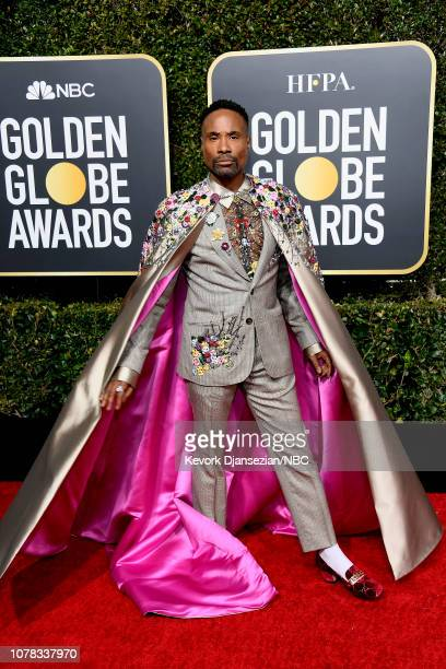 76th ANNUAL GOLDEN GLOBE AWARDS Pictured Billy Porter arrive to the 76th Annual Golden Globe Awards held at the Beverly Hilton Hotel on January 6 2019