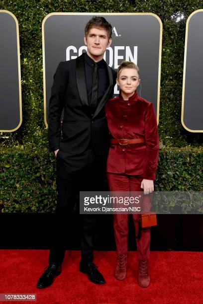 76th ANNUAL GOLDEN GLOBE AWARDS Pictured Bo Burnham and Elsie Fisher arrive to the 76th Annual Golden Globe Awards held at the Beverly Hilton Hotel...