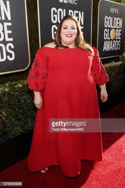 76th ANNUAL GOLDEN GLOBE AWARDS Pictured Chrissy Metz arrives to the 76th Annual Golden Globe Awards held at the Beverly Hilton Hotel on January 6...