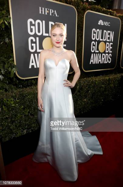 76th ANNUAL GOLDEN GLOBE AWARDS Pictured Dakota Fanning arrives to the 76th Annual Golden Globe Awards held at the Beverly Hilton Hotel on January 6...