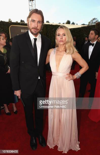 76th ANNUAL GOLDEN GLOBE AWARDS Pictured Dax Shepard and Kristen Bell arrive to the 76th Annual Golden Globe Awards held at the Beverly Hilton Hotel...