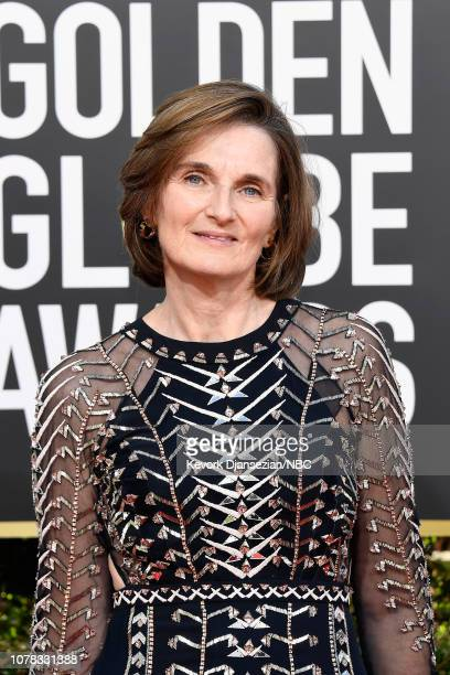 76th ANNUAL GOLDEN GLOBE AWARDS Pictured Deborah Davis arrives to the 76th Annual Golden Globe Awards held at the Beverly Hilton Hotel on January 6...