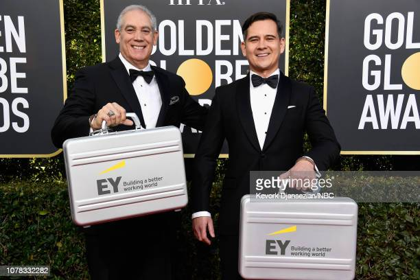 76th ANNUAL GOLDEN GLOBE AWARDS Pictured EY representatives arrive to the 76th Annual Golden Globe Awards held at the Beverly Hilton Hotel on January...