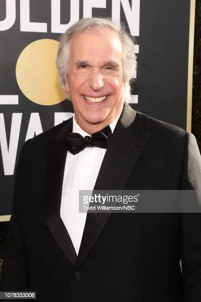 76th ANNUAL GOLDEN GLOBE AWARDS Pictured Henry Winkler arrives to the 76th Annual Golden Globe Awards held at the Beverly Hilton Hotel on January 6...