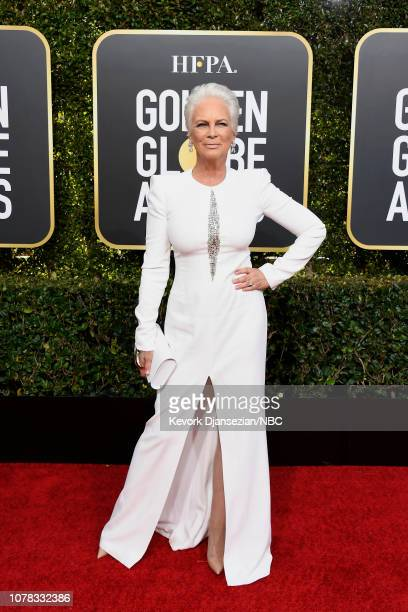 76th ANNUAL GOLDEN GLOBE AWARDS Pictured Jamie Lee Curtis arrives to the 76th Annual Golden Globe Awards held at the Beverly Hilton Hotel on January...