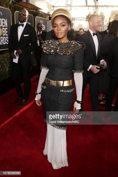 76th ANNUAL GOLDEN GLOBE AWARDS Pictured Janelle Monae arrives to the 76th Annual Golden Globe Awards held at the Beverly Hilton Hotel on January 6...