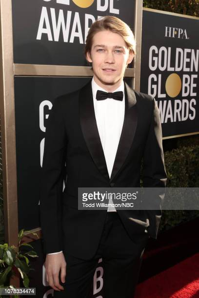 76th ANNUAL GOLDEN GLOBE AWARDS Pictured Joe Alwyn arrive to the 76th Annual Golden Globe Awards held at the Beverly Hilton Hotel on January 6 2019