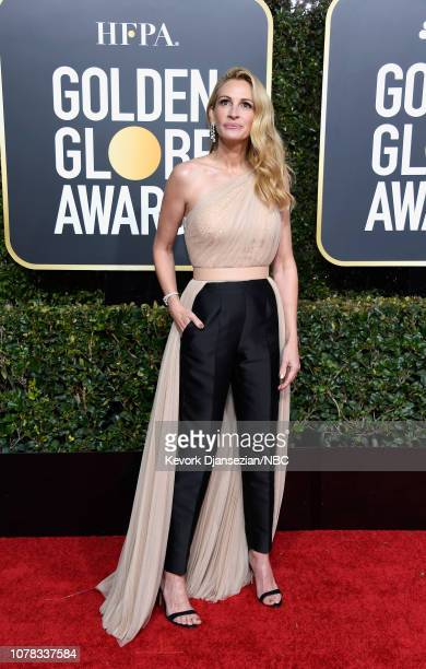 76th ANNUAL GOLDEN GLOBE AWARDS Pictured Julia Roberts arrives to the 76th Annual Golden Globe Awards held at the Beverly Hilton Hotel on January 6...