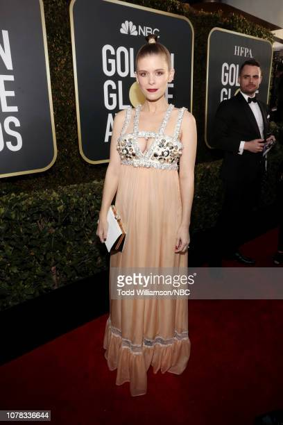 76th ANNUAL GOLDEN GLOBE AWARDS Pictured Kate Mara arrives to the 76th Annual Golden Globe Awards held at the Beverly Hilton Hotel on January 6 2019