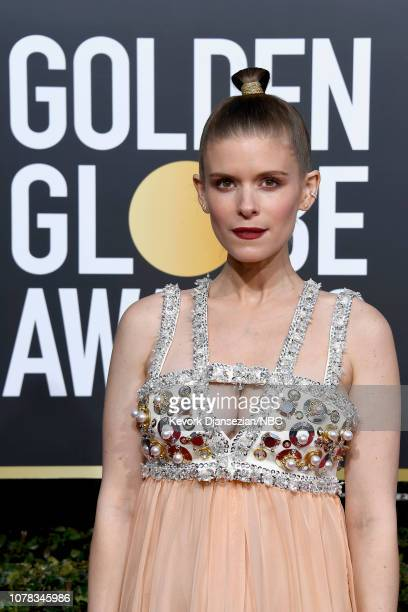 76th ANNUAL GOLDEN GLOBE AWARDS -- Pictured: Kate Mara arrives to the 76th Annual Golden Globe Awards held at the Beverly Hilton Hotel on January 6,...