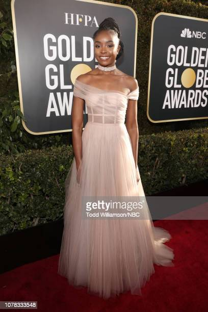 76th ANNUAL GOLDEN GLOBE AWARDS -- Pictured: Kiki Layne arrives to the 76th Annual Golden Globe Awards held at the Beverly Hilton Hotel on January 6,...