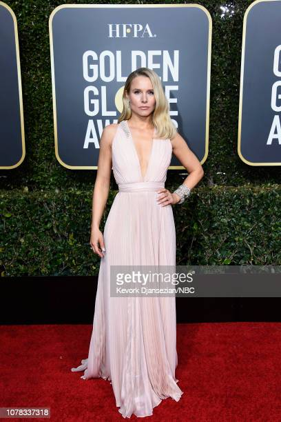 76th ANNUAL GOLDEN GLOBE AWARDS Pictured Kristen Bell arrives to the 76th Annual Golden Globe Awards held at the Beverly Hilton Hotel on January 6...