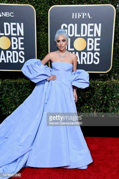 76th ANNUAL GOLDEN GLOBE AWARDS Pictured Lady Gaga arrives to the 76th Annual Golden Globe Awards held at the Beverly Hilton Hotel on January 6 2019