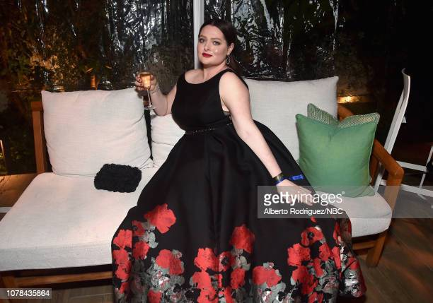 76th ANNUAL GOLDEN GLOBE AWARDS -- Pictured: Lauren Ash enjoys the NBCUniversal Golden Globe Awards Viewing-Party Sunday, January 6, 2019 in the...