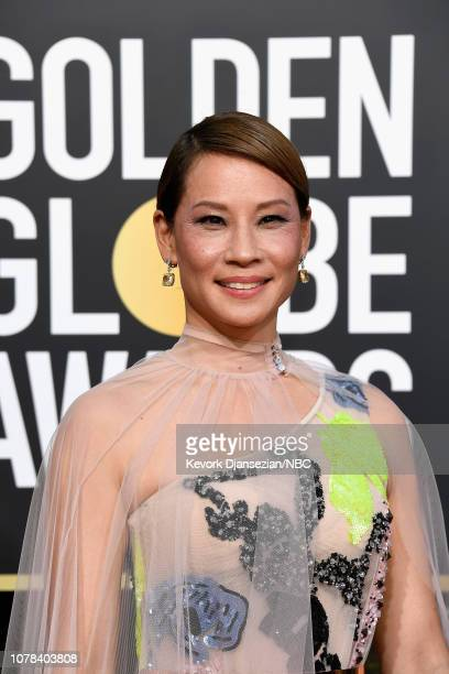 76th ANNUAL GOLDEN GLOBE AWARDS Pictured Lucy Liu arrive to the 76th Annual Golden Globe Awards held at the Beverly Hilton Hotel on January 6 2019