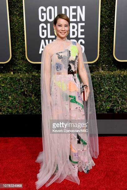76th ANNUAL GOLDEN GLOBE AWARDS Pictured Lucy Liu arrives to the 76th Annual Golden Globe Awards held at the Beverly Hilton Hotel on January 6 2019