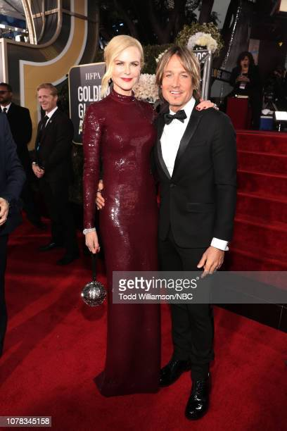 76th ANNUAL GOLDEN GLOBE AWARDS Pictured Nicole Kidman and Keith Urban arrive to the 76th Annual Golden Globe Awards held at the Beverly Hilton Hotel...