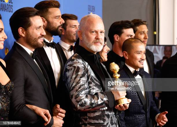 76th ANNUAL GOLDEN GLOBE AWARDS Pictured Outstanding Limited Series award for 'The Assassination of Gianni Versace American Crime Story' winners...
