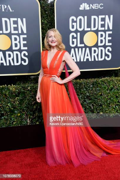 76th ANNUAL GOLDEN GLOBE AWARDS Pictured Patricia Clarkson arrive to the 76th Annual Golden Globe Awards held at the Beverly Hilton Hotel on January...